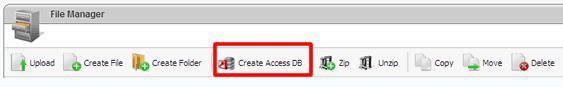 Arvixe国外空间ASP空间如何创建Access数据库