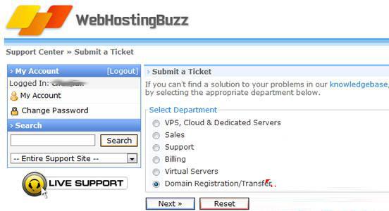 国外空间WebHostingBuzz购买后如何注册免费域名(图文)